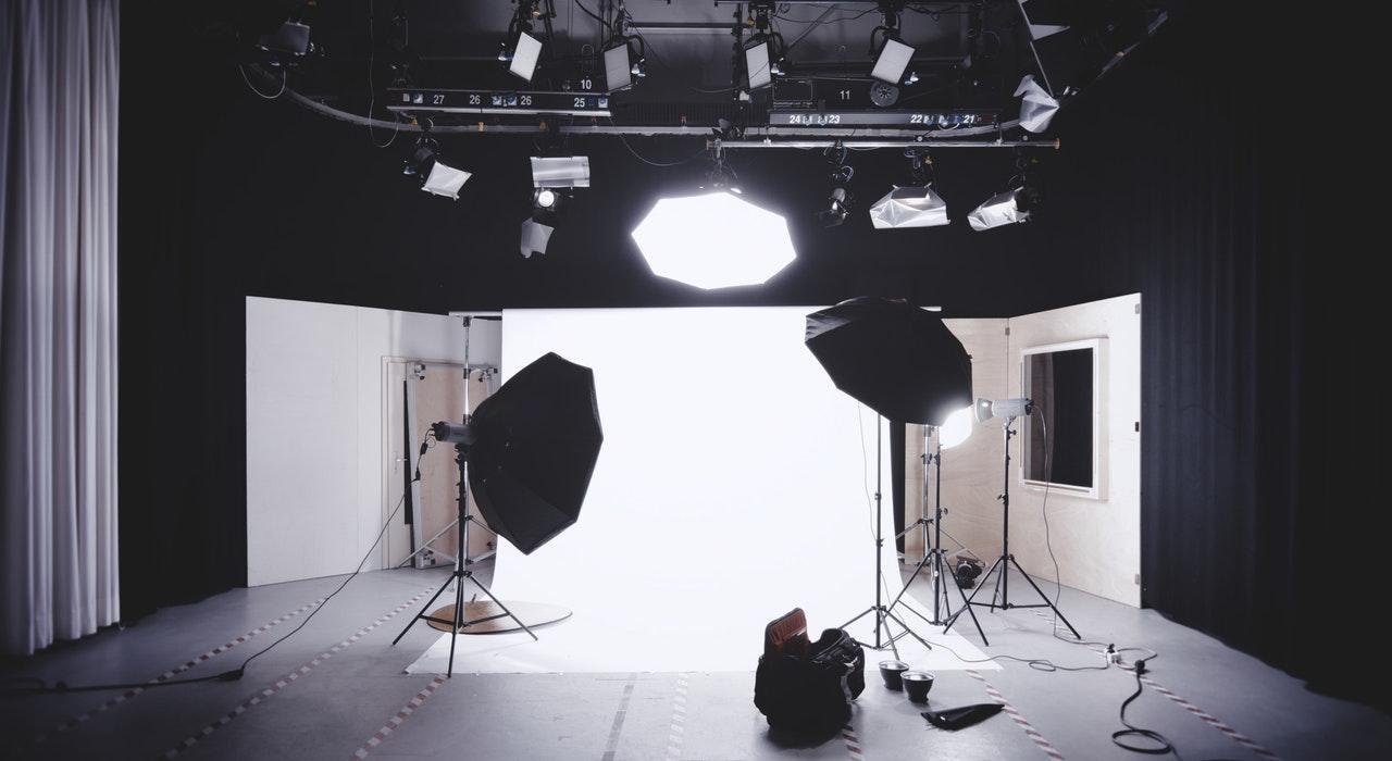 Photo shoot setup